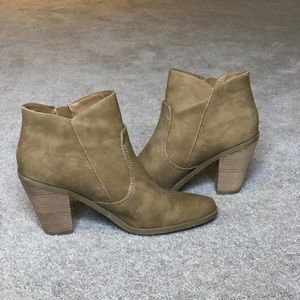 Size 12 Ankle Boots - Lightly Worn